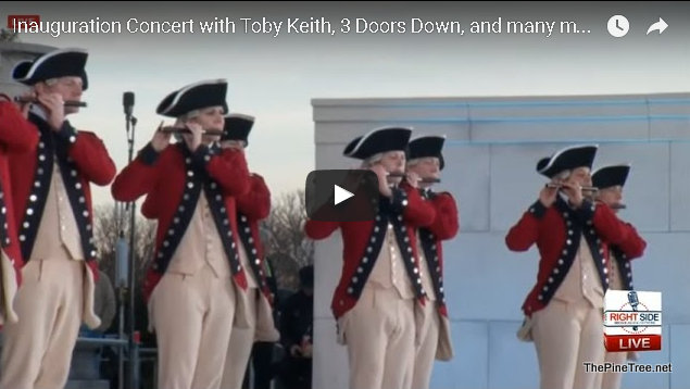 Inauguration Concert & Lead Up Festivities From Washington DC