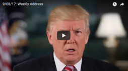 President Trumps Weekly Address…This Week on Taxes & Natural Disasters